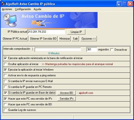Cómo se hizo Aviso Cambio IP Pública mediante Delphi, php y MySQL