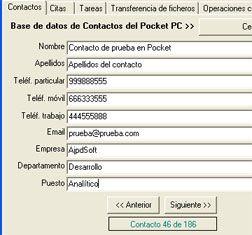 AjpdSoft Acceso a Pocket PC Código Fuente Delphi