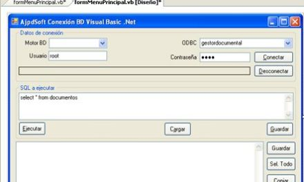 Acceso a MySQL mediante Visual Basic .Net y ODBC