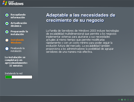 Instalar Windows Server 2003 Enterprise Edition SP2