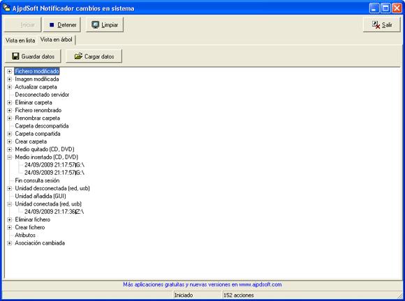 AjpdSoft Notificador cambios en sistema