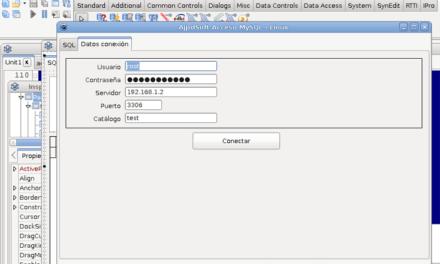 Mi primera aplicación en Linux con Lazarus con acceso a MySQL Server