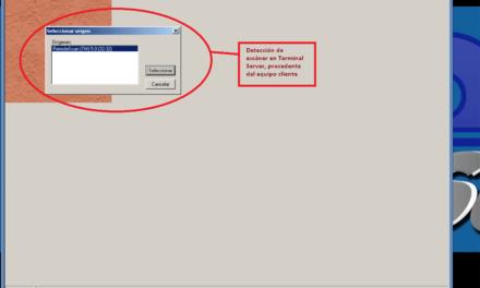 Escanear o digitalizar en Terminal Server con Windows y RemoteScan