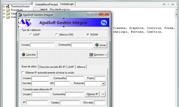 Formulario inicio sesión validando en LDAP Código Fuente Delphi 6