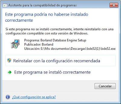 Instalar manualmente aplicación Windows de 32 bits en equipo con 64 bits