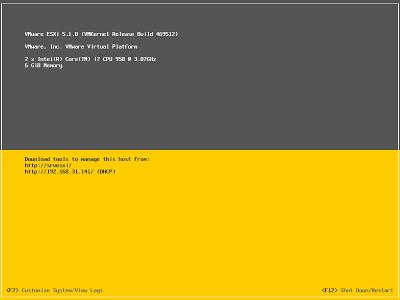 Cambiar versión VMware ESXi de la 5.1 a la 5.0, inventariar máquinas virtuales