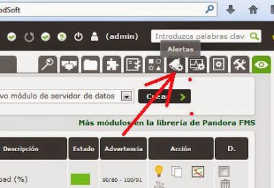 Agregar servidor o sistema o agente a servidor de monitorización Pandora FMS