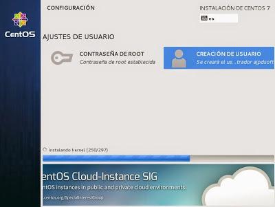 Montar servidor web Apache y servidor MySQL con Linux CentOS 7 Minimal