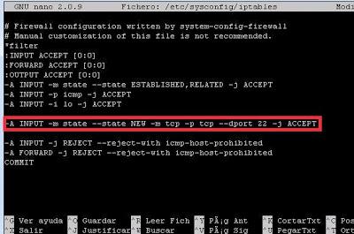 Habilitar acceso remoto mediante SSH en Linux CentOS con OpenSSH