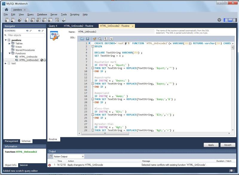 Añadir y usar procedimiento almacenado stored procedure en MySQL Server