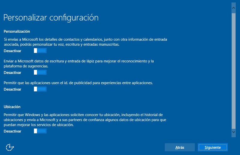 Instalar Microsoft Windows 10 en equipo nuevo, novedades en Windows 10