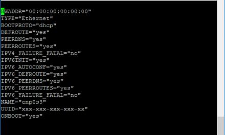 Configurar la red DHCP o estática y establecer IP y DNS en Linux CentOS 7 desde la línea de comandos