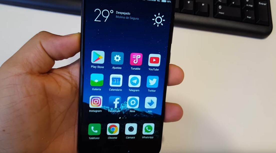 Vídeotutorial | Cómo hacer captura de pantalla a imagen con Xiaomi Mi6