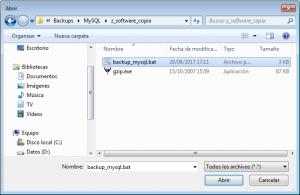 Cómo hacer copia de seguridad de MySQL Server programada en WIndows sin software de terceros