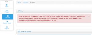 Mostrar último mensaje de error en operaciones con MySQL y MariaDB desde PHP