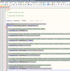 Configurar WordPress para permitir envío de mail con servidores externos