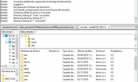 Montar servidor FTP con vsftp en Linux CentOS 7 Minimal y acceso con usuario root