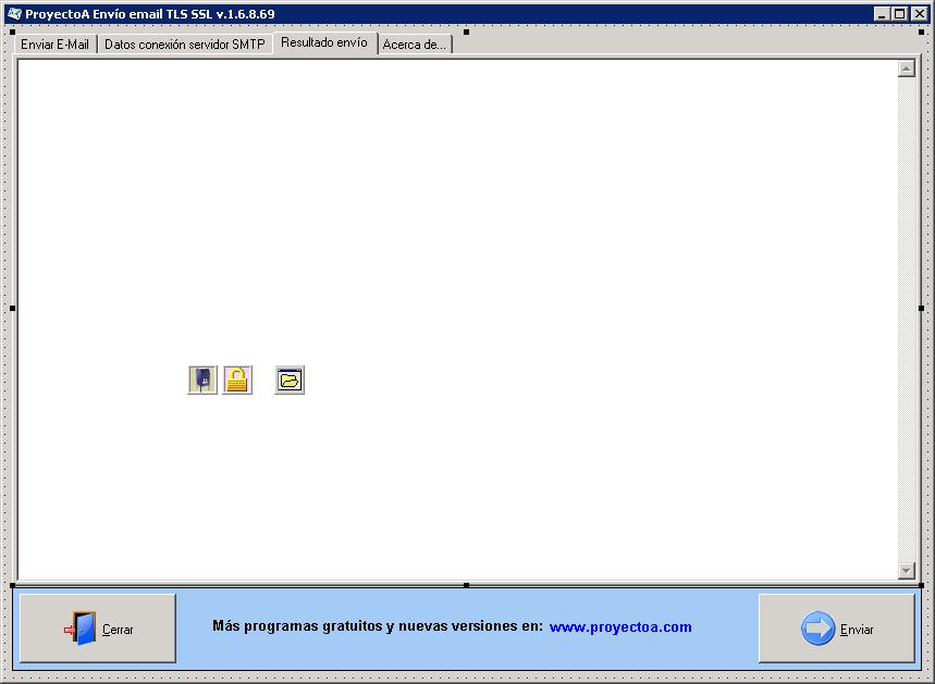 Desarrollar aplicación ProyectoA Envío email TLS SSL en Delphi 6