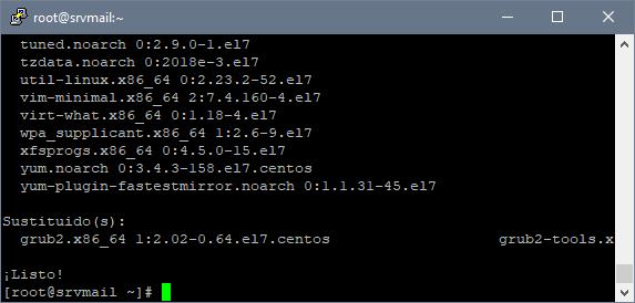 Preparar equipo Linux CentOS 7 para instalar Zimbra y montar servidor de correo electrónico