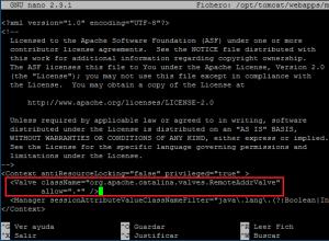 Configuración básica de Apache Tomcat 9