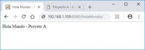Desplegar aplicación JSP (fichero WAR) en servidor Apache Tomcat 9