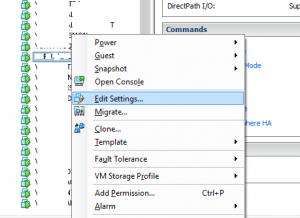 Añadir disco duro a máquina virtual en VMware