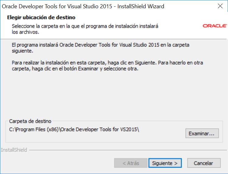 Acceso nativo a Oracle con ODAC y Visual Studio  Net Community C