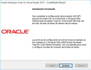 Descarga e instalación de ODAC Oracle Data Access Components para Visual Studio