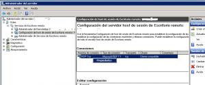 Configurar cierre de sesiones de Escritorio Remoto en estado Desconectado para equipos Windows Server con rol de Escritorio Remoto - Windows Server 2008
