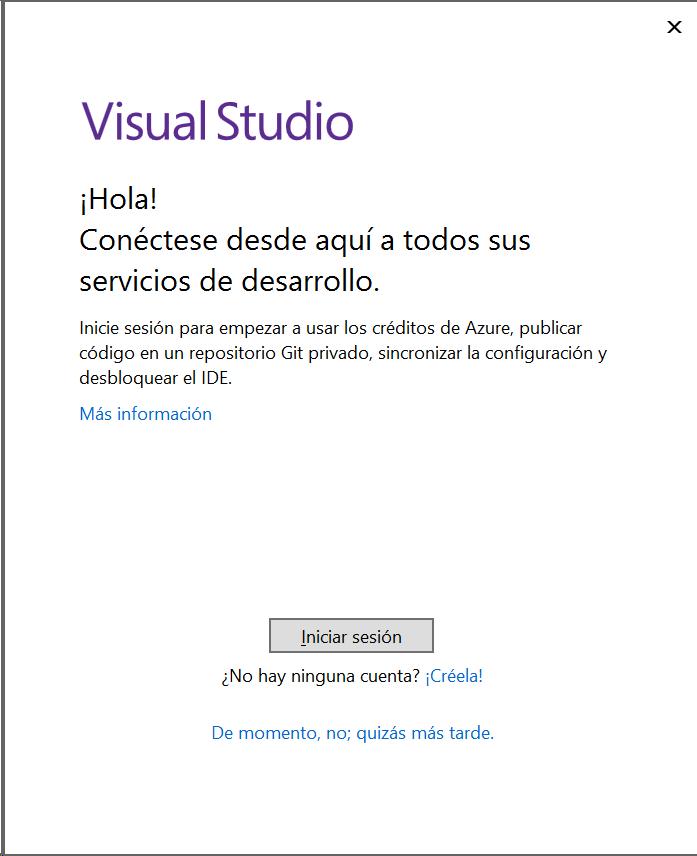 Descargar e instalar  Visual Studio Community 2017