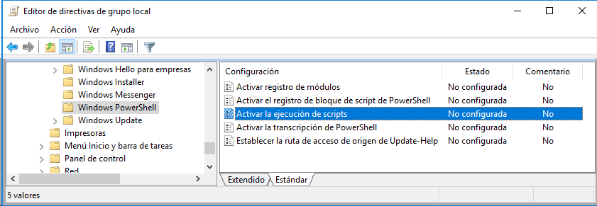 Requisitos para instalar paquetes NuGet en Visual Studio .Net