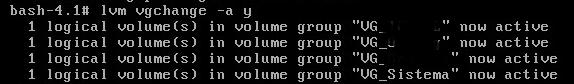 Reparar unidad de disco (volumen) dañado en Linux Red Hat