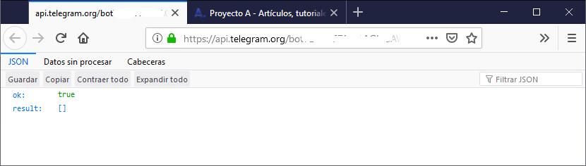 Programar funciones en bot de Telegram, dar funcionalidad al bot