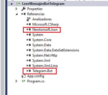 Leer mensajes de bot de Telegram usando C# C Sharp .Net
