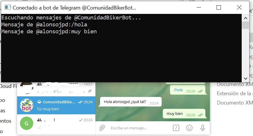 Leer mensajes Bot Telegram en C#