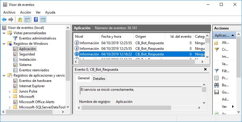 Instalar y depurar el servicio desde Visual Studio .Net