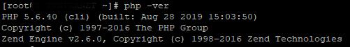 Verificar que se ha instalado PHP 5.6 y que funciona correctamente el servidor web con Apache y PHP