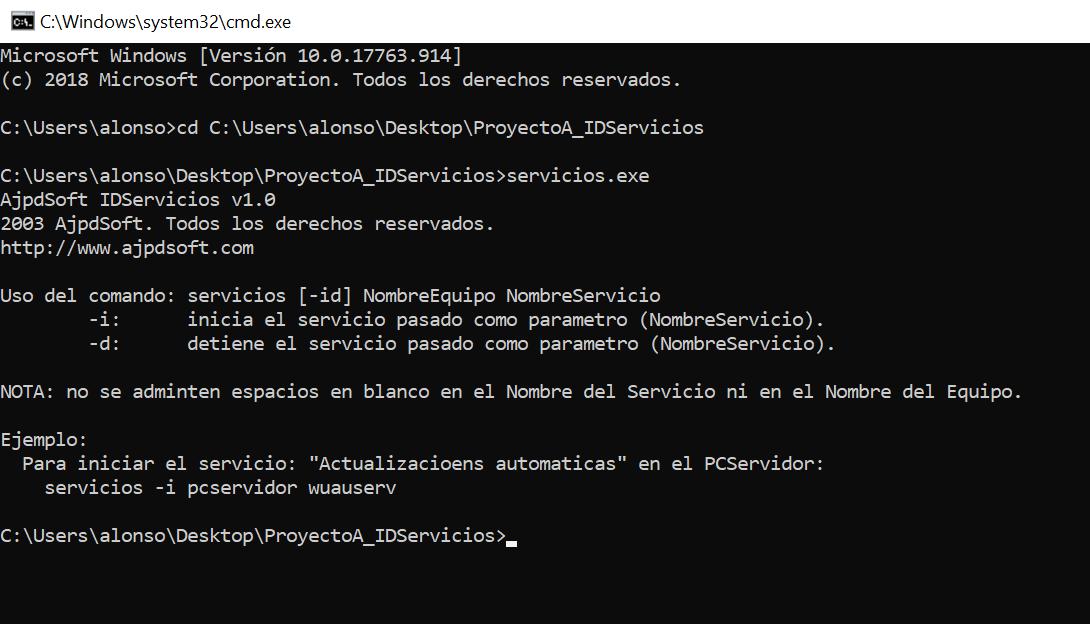 AjpdSoft IDServicios Código fuente Delphi 6