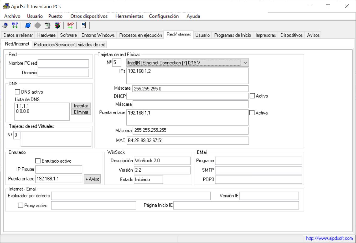 AjpdSoft Inventario PCs  Código fuente Delphi Nueva versión