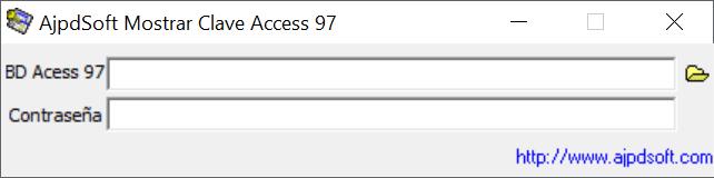 ProyectoA Mostrar Clave Access 97