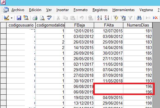 Añadir consulta sobre una tabla en Access con filtros condicionales