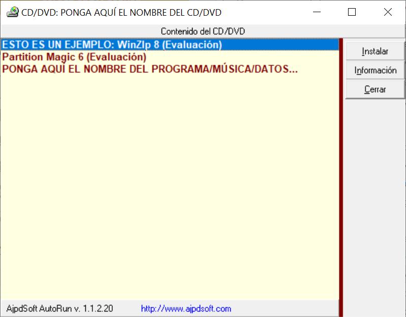 AjpdSoft AutoRun Código Fuente Delphi