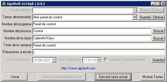 AjpdSoft EnTApli BETA Código Fuente Delphi
