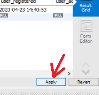 Modificar la contraseña de acceso de un usuario de WordPress desde MySQL Workbench