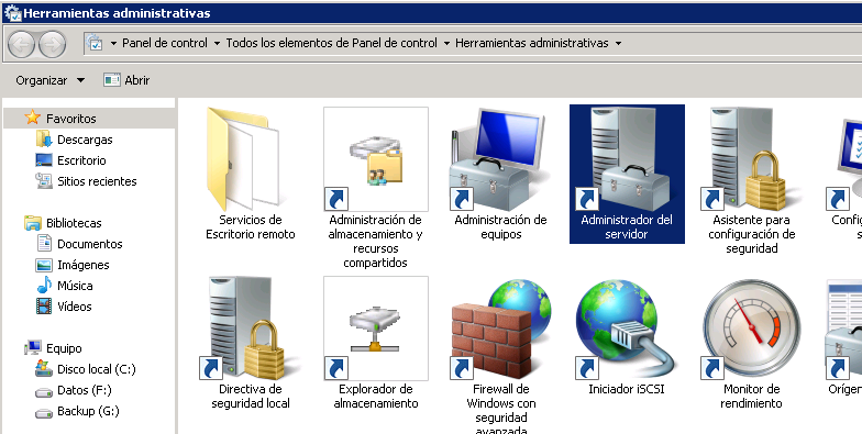 Requisitos para ampliar/extender un disco duro de una máquina virtual Windows Server 2008 sobre VMware ESX