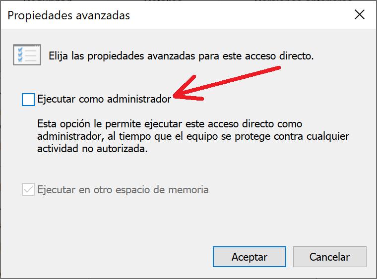 Iniciar aplicación de Windows XP en equipo con Windows 10 en modo compatibilidad