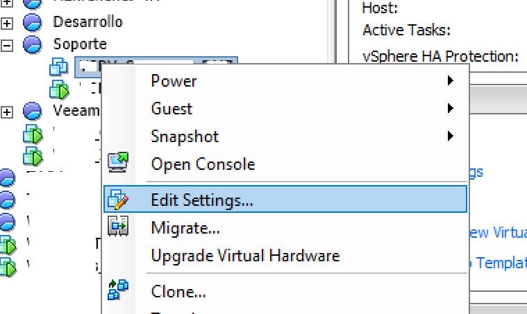 Iniciar máquina virtual clonada sin red y abrir consola desde VMware