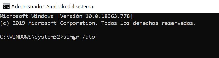 Forzar la reactivación de Windows cuando está mal activado