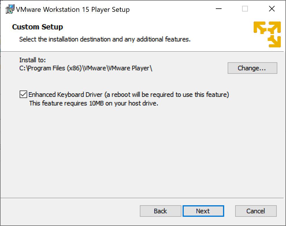 Descarga e instalación de la aplicación VMware Worstation Player (VMware Remote Player)