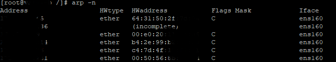 Obtener información sobre los adaptadores de red y la configuración de red en Linux CentOS 7